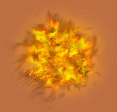 Halloween graphics firepng. Yellow smoke png