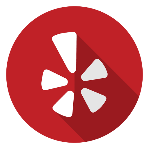 Yelp icon png. Logo transparent svg vector