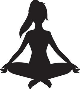Yoga clipart. Clip art panda free