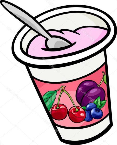 Nice clip art . Yogurt clipart
