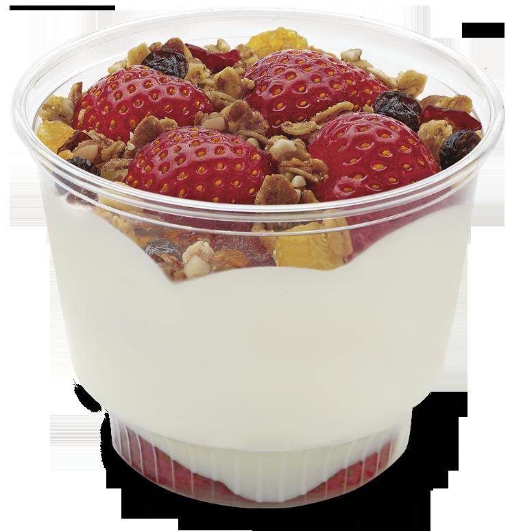 Easily found food items. Yogurt clipart curd