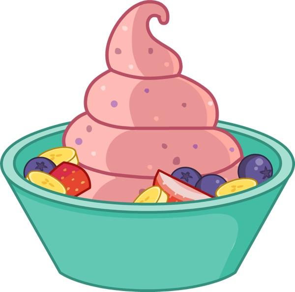 Yogurt clipart frozen yogurt. Download yoghurt clip
