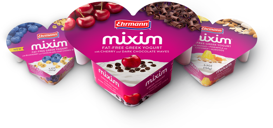 Yogurt clipart greek yogurt. Ehrmann usa mixim