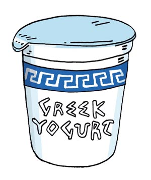 . Yogurt clipart greek yogurt