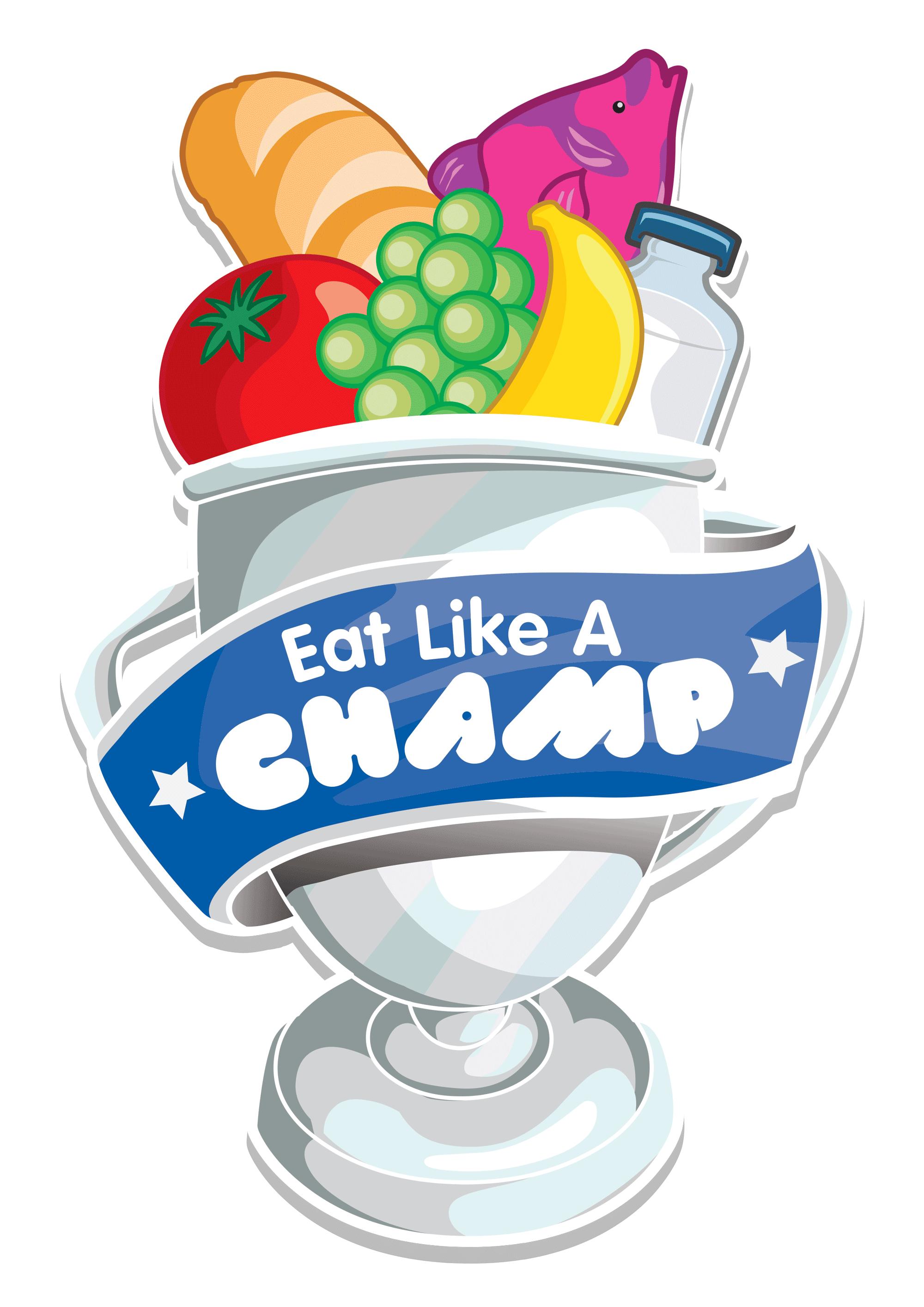 Yogurt clipart healthy dessert. Eat like a champ