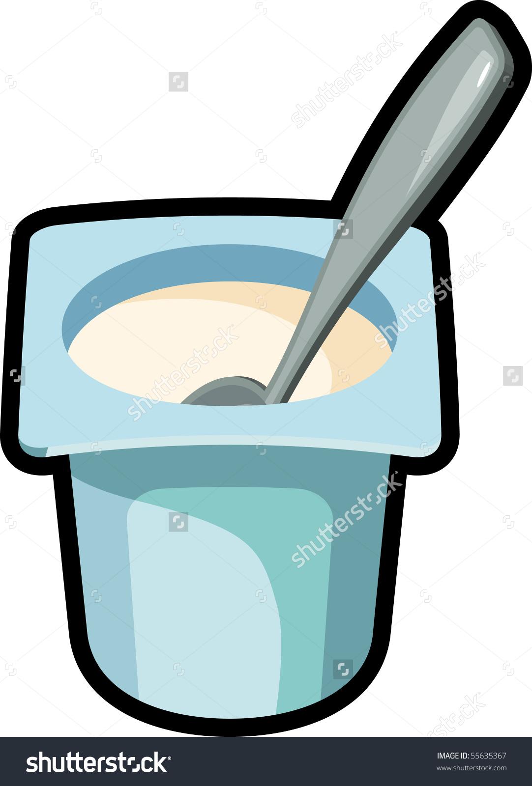 Yogurt clipart plain yogurt. Free download best on