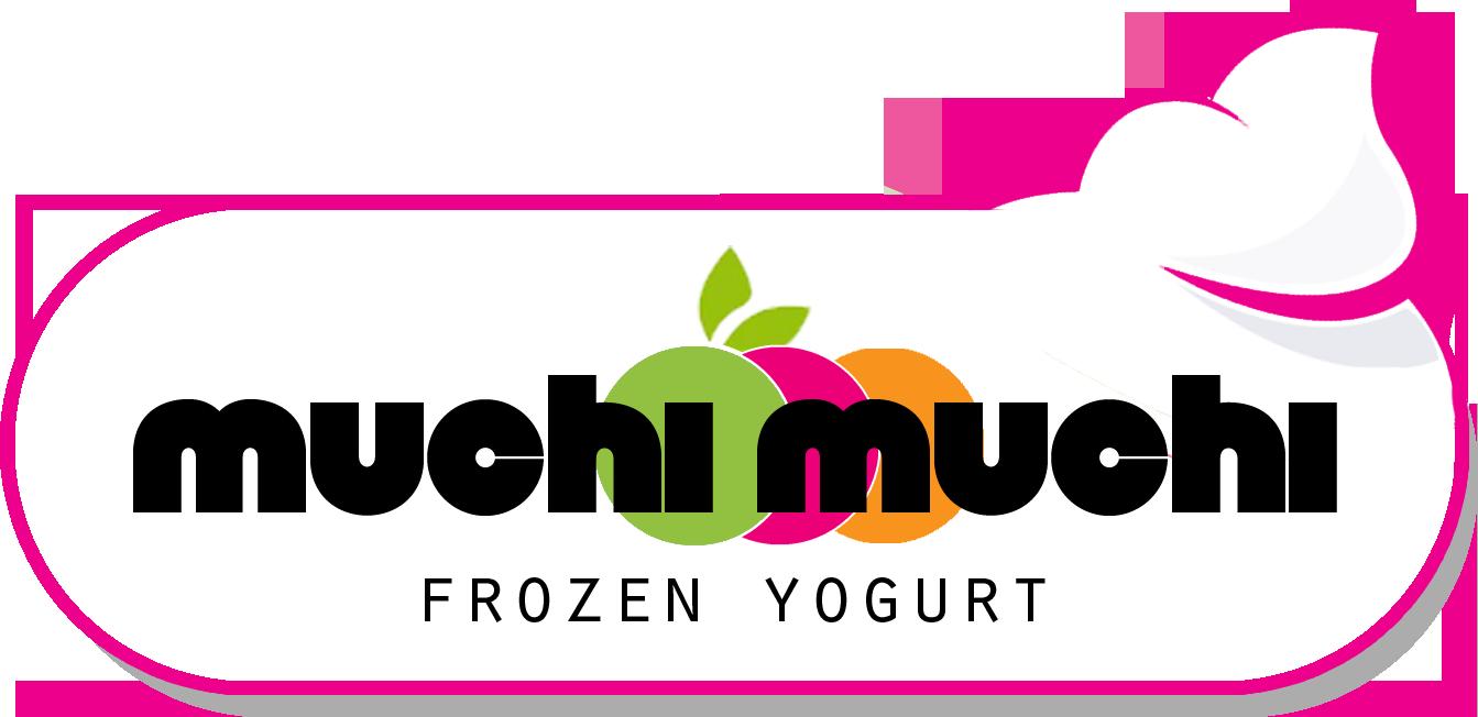Yogurt clipart spoonful. Muchi frozen froyo shop
