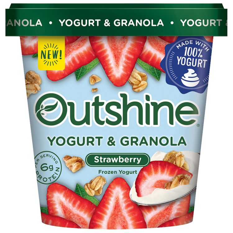 Frozen bars simply outshine. Yogurt clipart strawberry yogurt