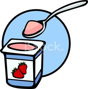 Yogurt clipart strawberry yogurt. Premium clipartlogo com
