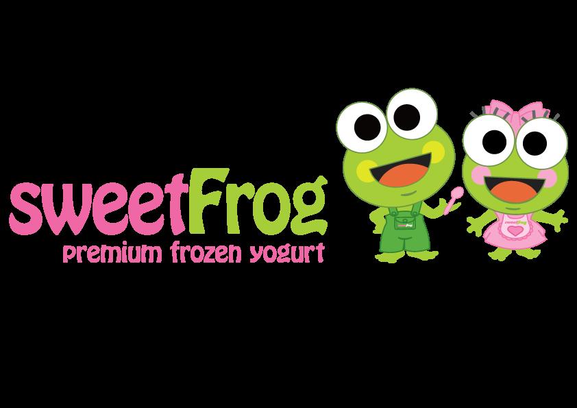Yogurt clipart vector. Sweetfrog premium frozen hops
