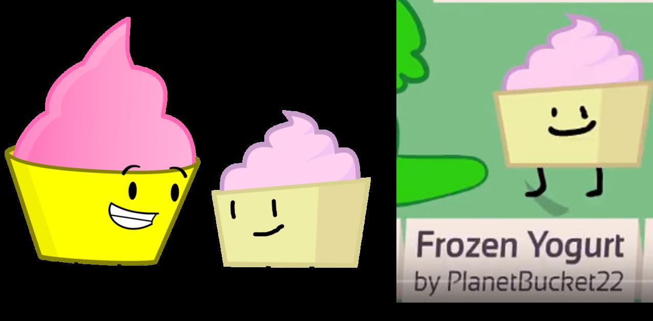 Yogurt clipart vector. Frozen meets her bfb