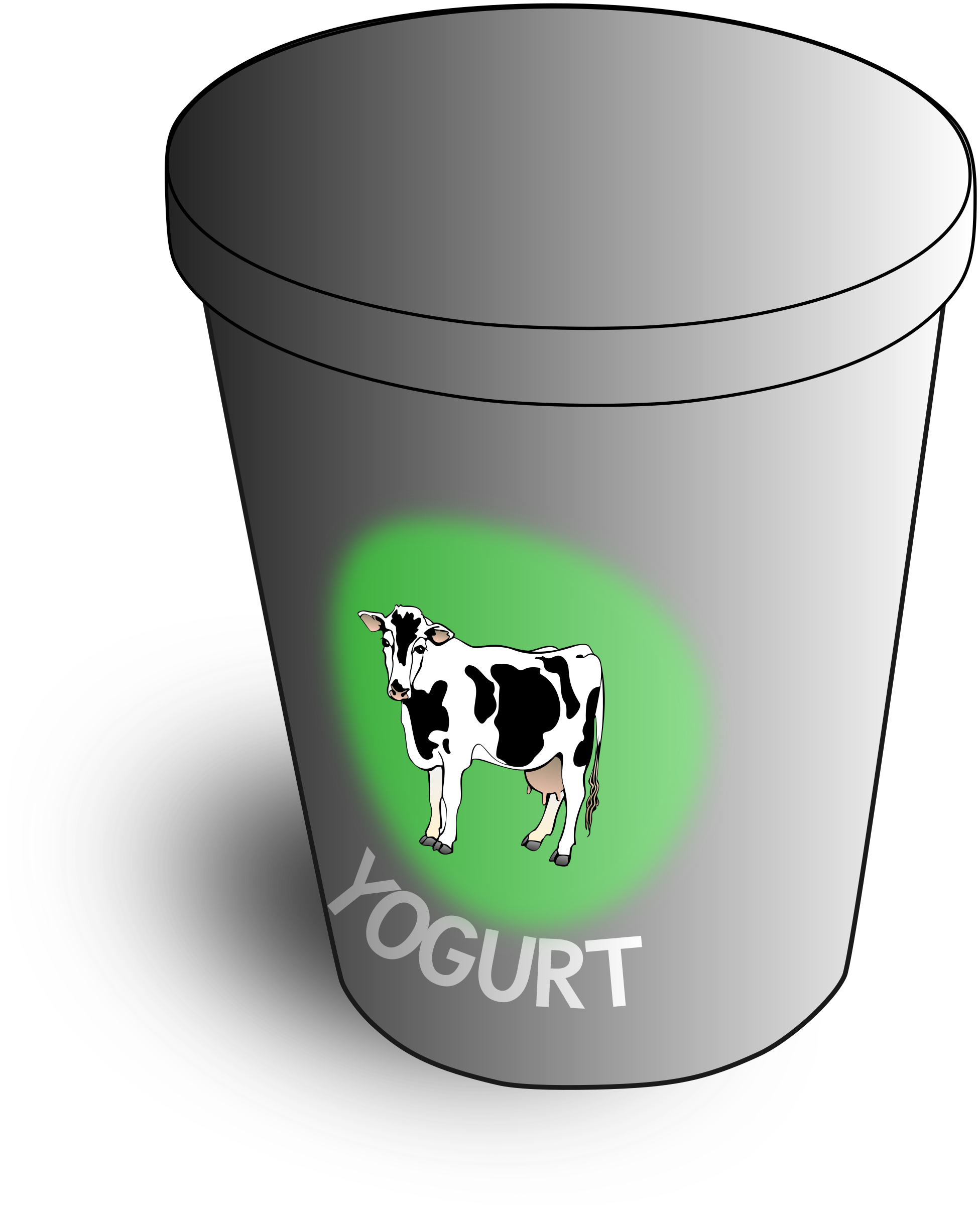 Yogurt clipart yogurt cup.  collection of container