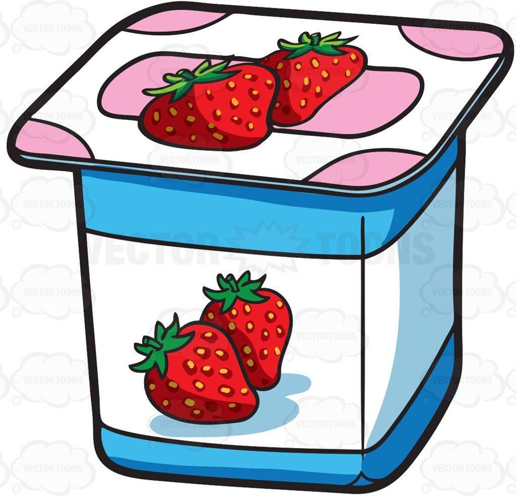 Free container download clip. Yogurt clipart yogurt cup