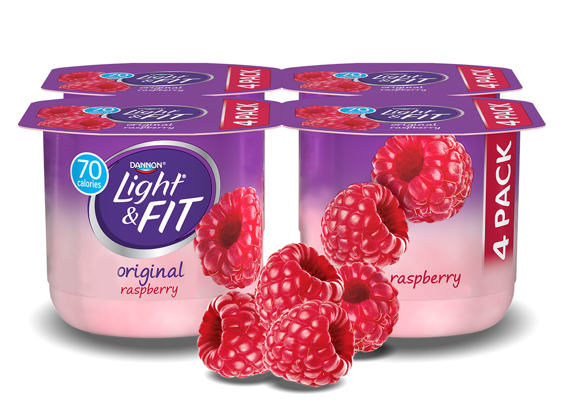 Raspberry nonfat light fit. Yogurt clipart yogurt drink
