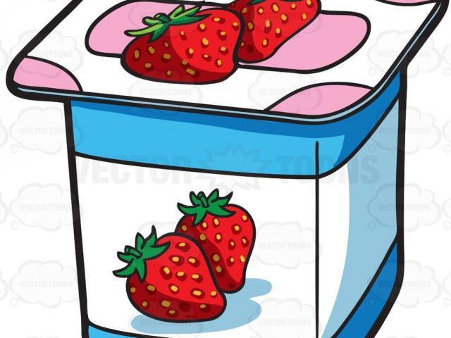 Yogurt clipart yogurt tub. Free download clip art