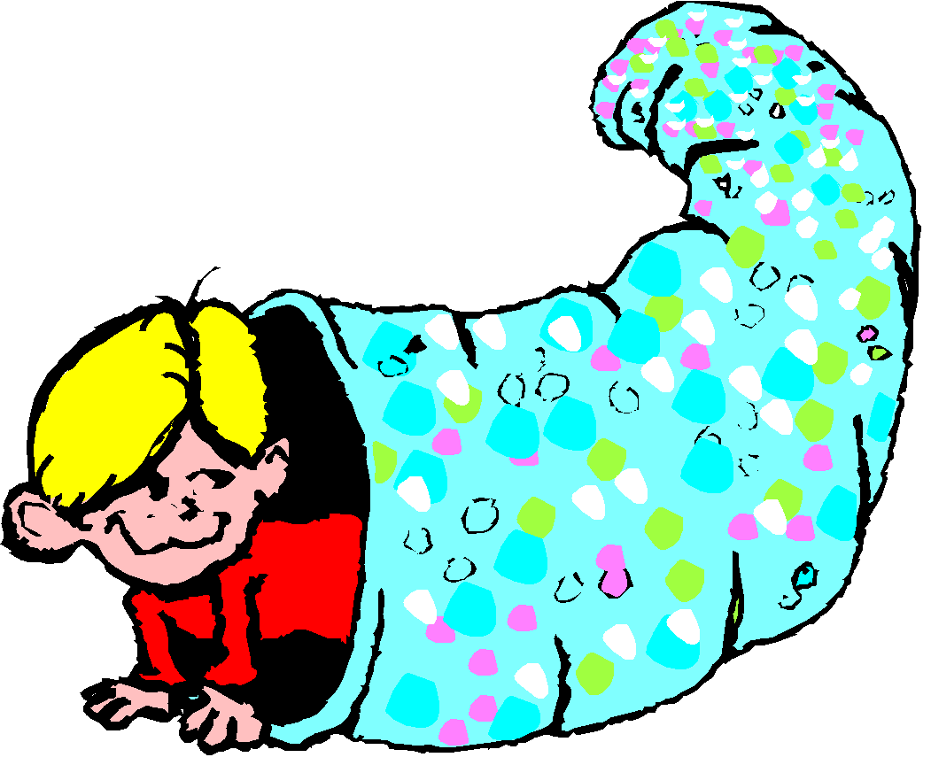 Busy bodies tunnel. Young clipart 2 year old