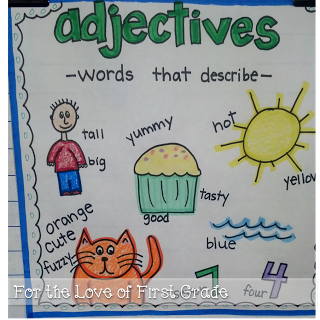 Using adjectives adds so. Young clipart adjective word