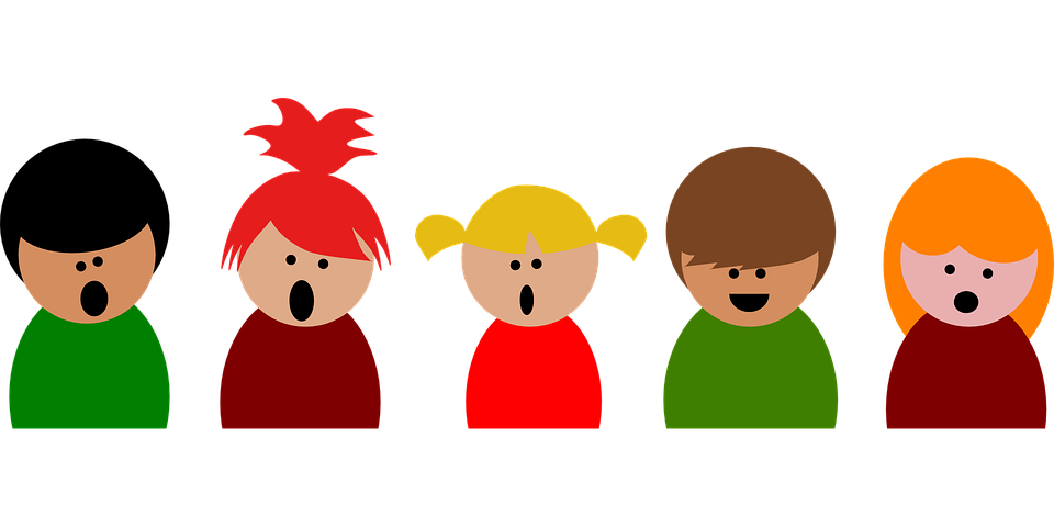 Young clipart animated. Children running shop of