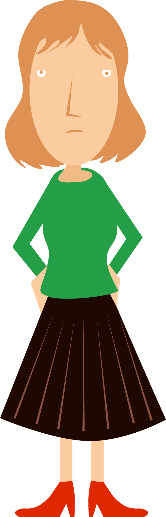 Young clipart aunt. Character gallery mysterycaper books