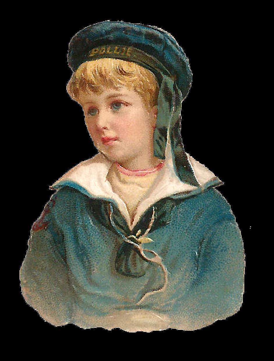 Antique images sailor digital. Young clipart boy portrait
