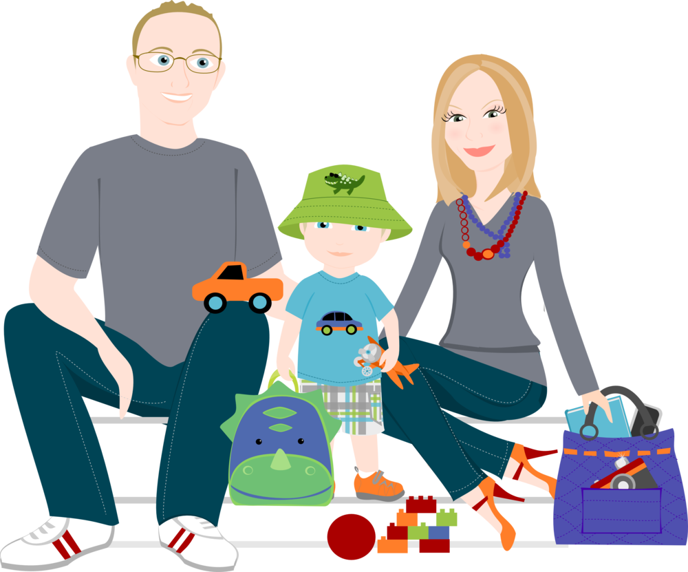 Drawing images at getdrawings. Young clipart family five