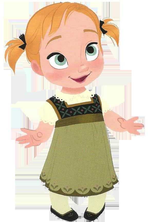 Dla dzieci pinterest princess. Young clipart frozen anna