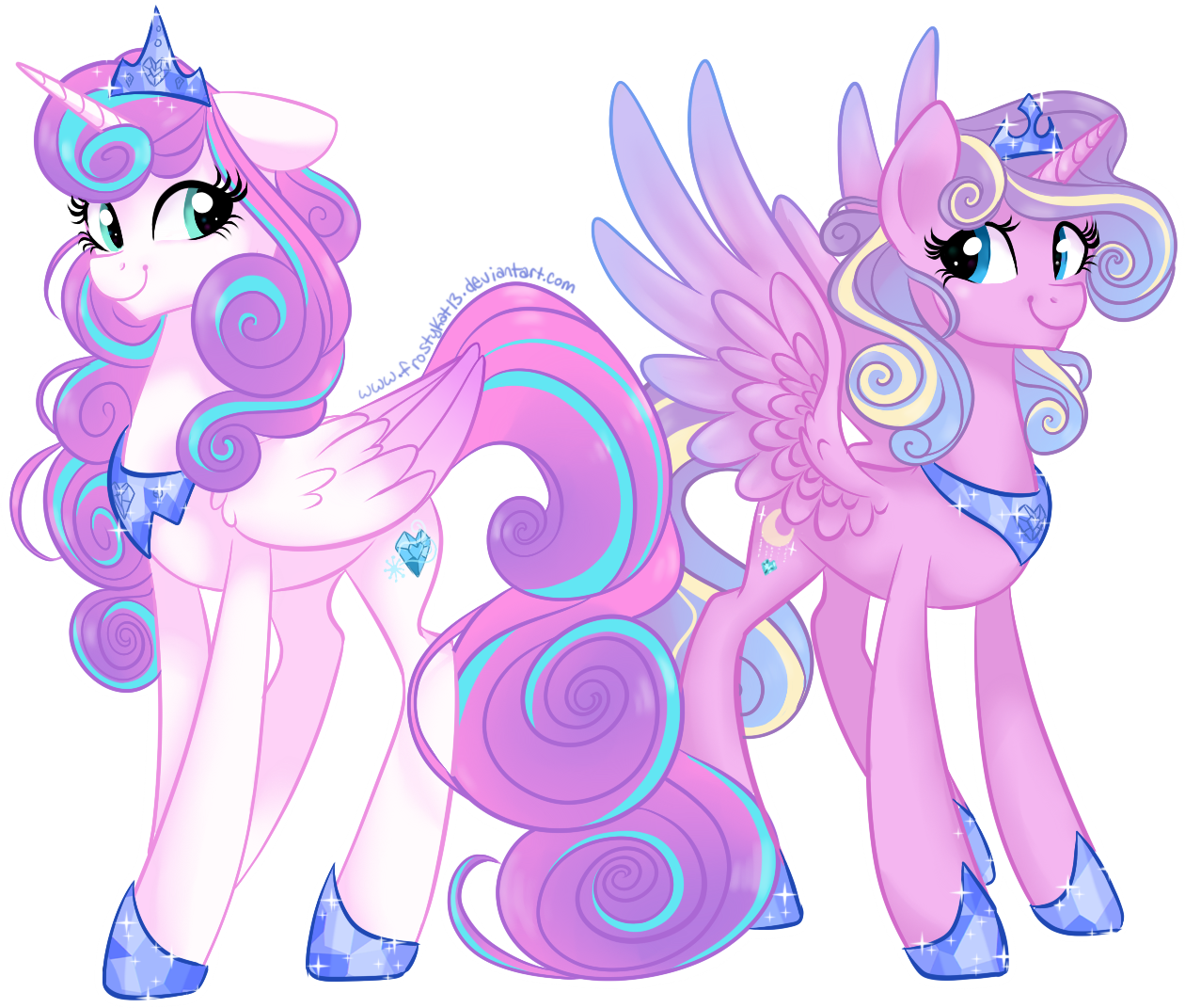 Royal sisters by frostykat. Young clipart half sister
