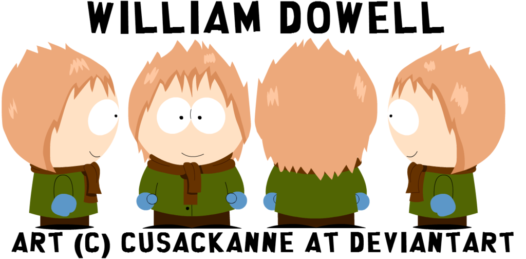 South park oc william. Young clipart half sister