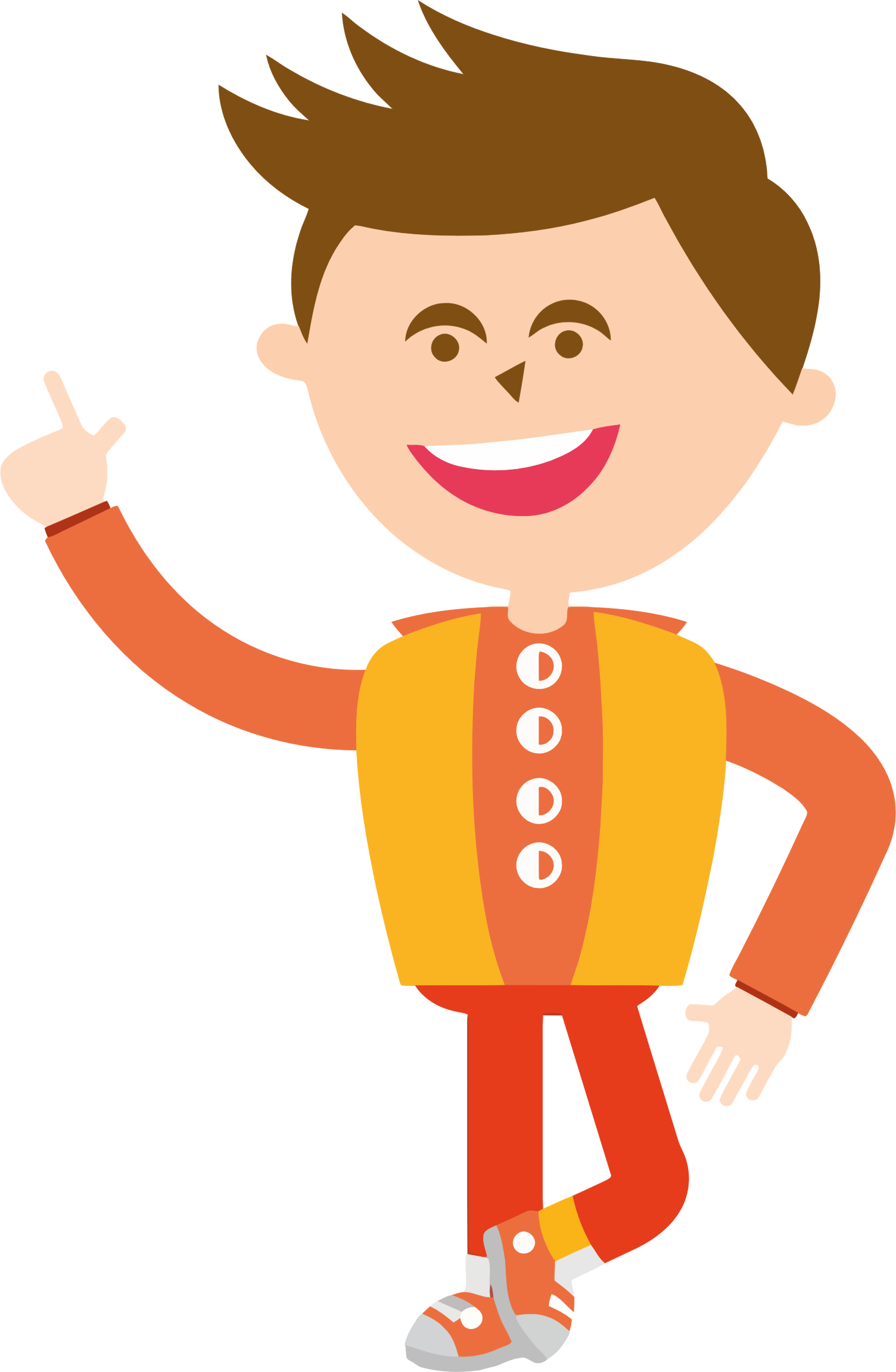 Young clipart happy kid. Big image png