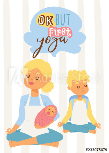 Young clipart healthy baby. Woman with and teenage