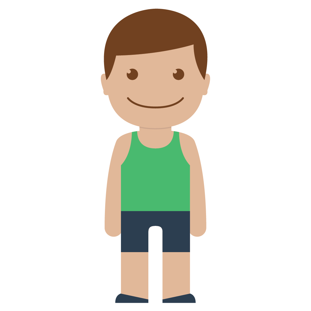 Young clipart human baby. Little boy by yudha