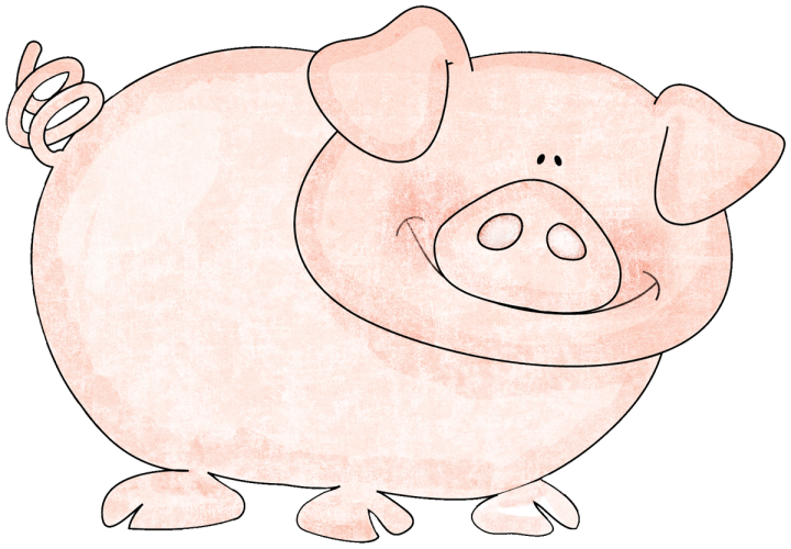 Kmill sticker pig png. Young clipart hush little baby