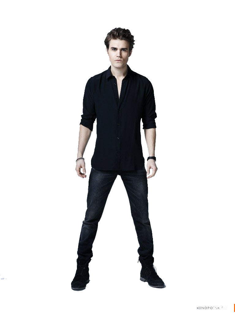 Young clipart man standing. The vampire diaries png