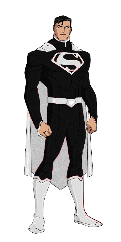 Platinum superman in justice. Young clipart man standing
