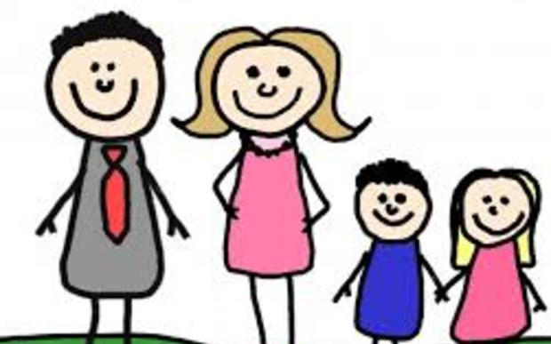 Is the a thing. Young clipart nuclear family
