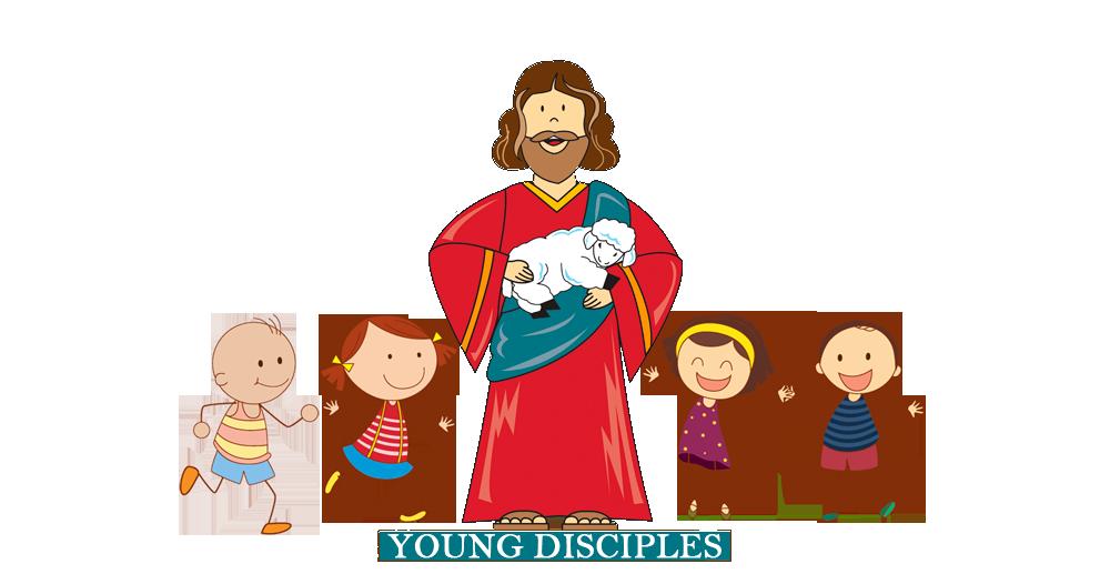 Young clipart older age. Disciples grades k bringing