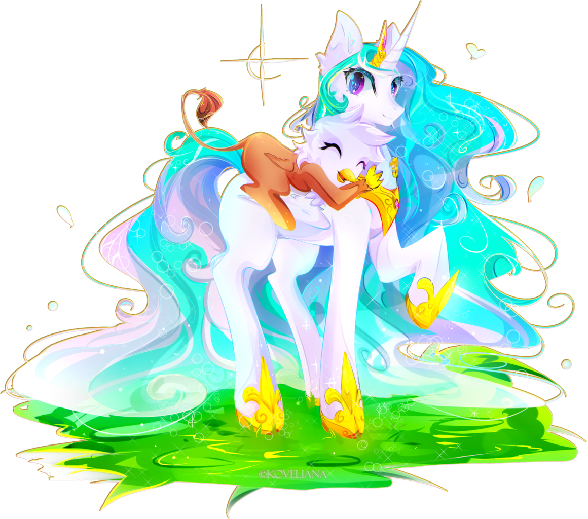 alicorn artist koveliana. Young clipart piggy back ride