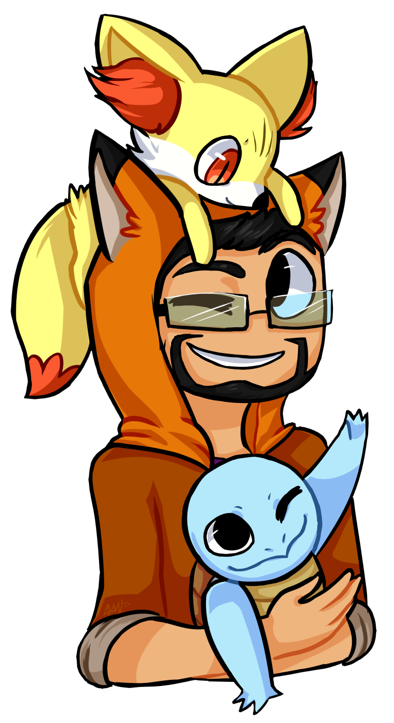 Slyfoxhound minecraft gamers from. Young clipart random person