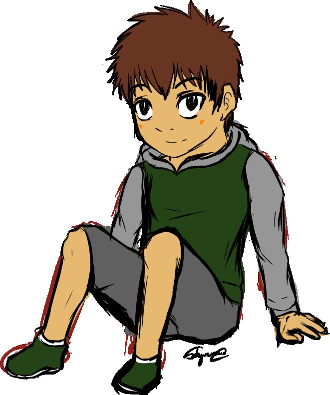 Kouhei sketch by syaofkanada. Young clipart random person