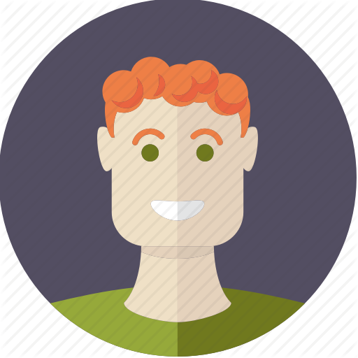 Young clipart red hair boy.  flatfaces everyday people