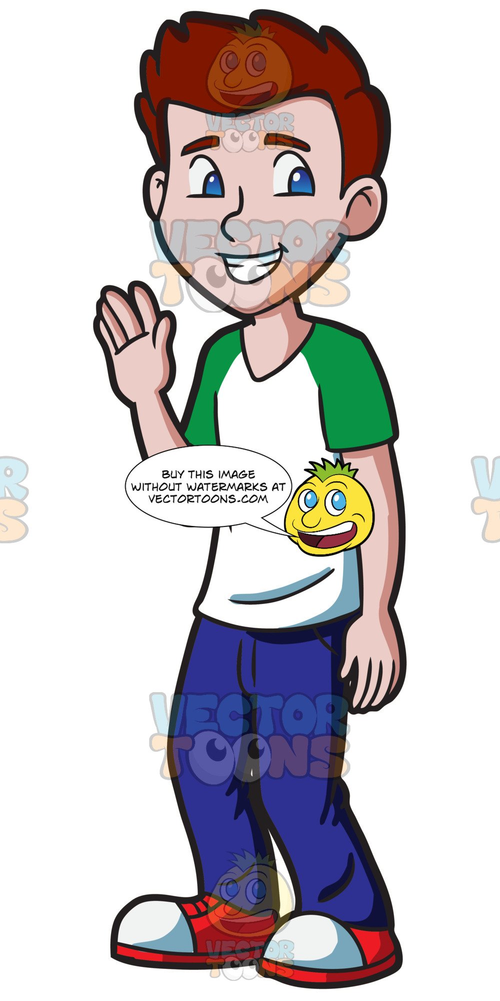Young clipart red hair boy. A haired male high