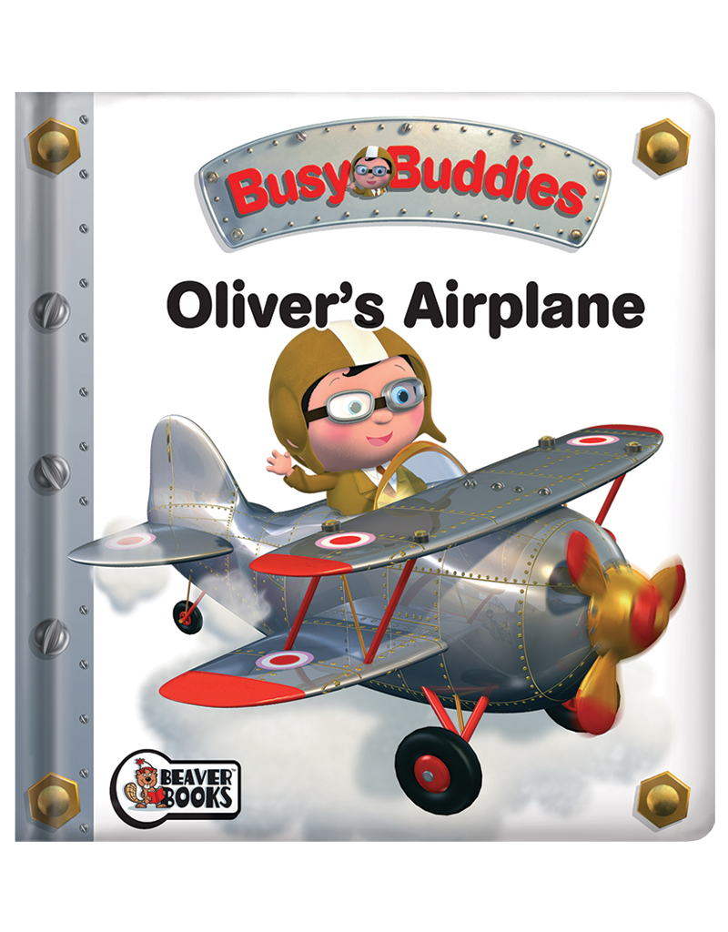 Young clipart toy airplane. Busy buddies oliver s