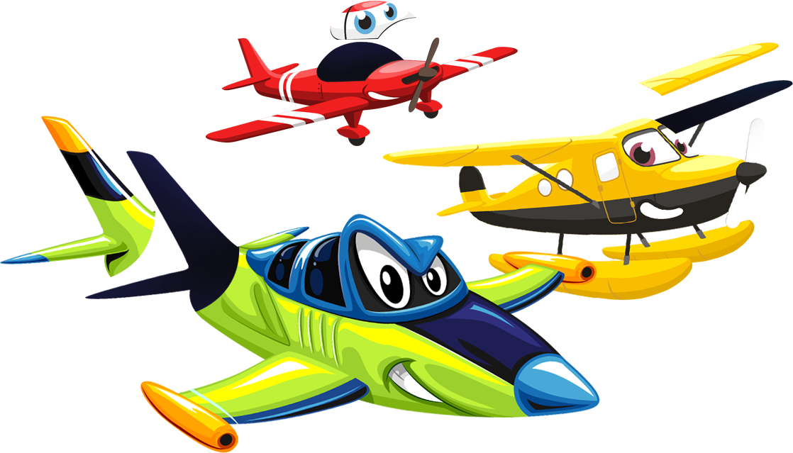 King game mobile tablet. Young clipart toy airplane