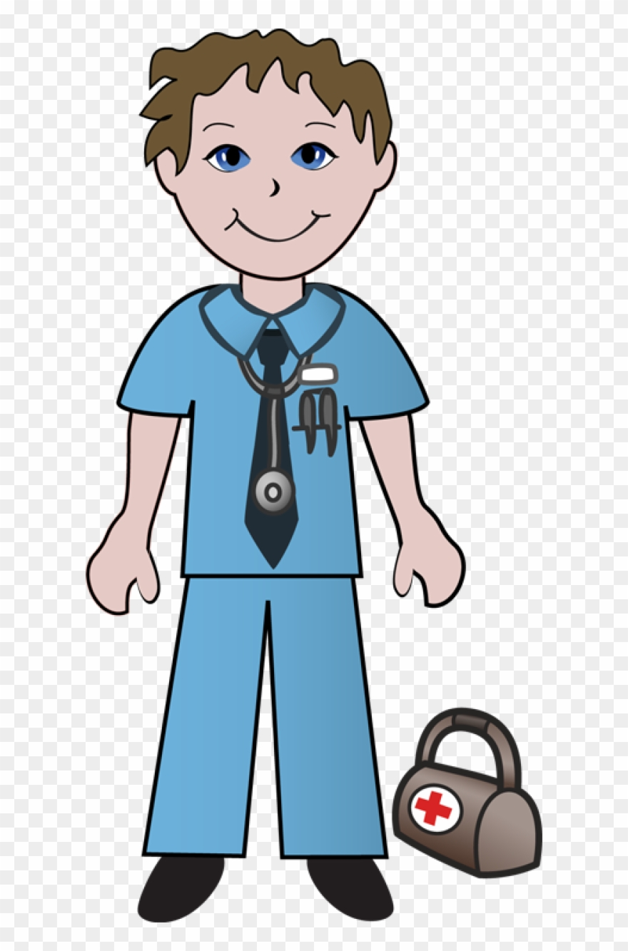 Young clipart transparent. Free doctor