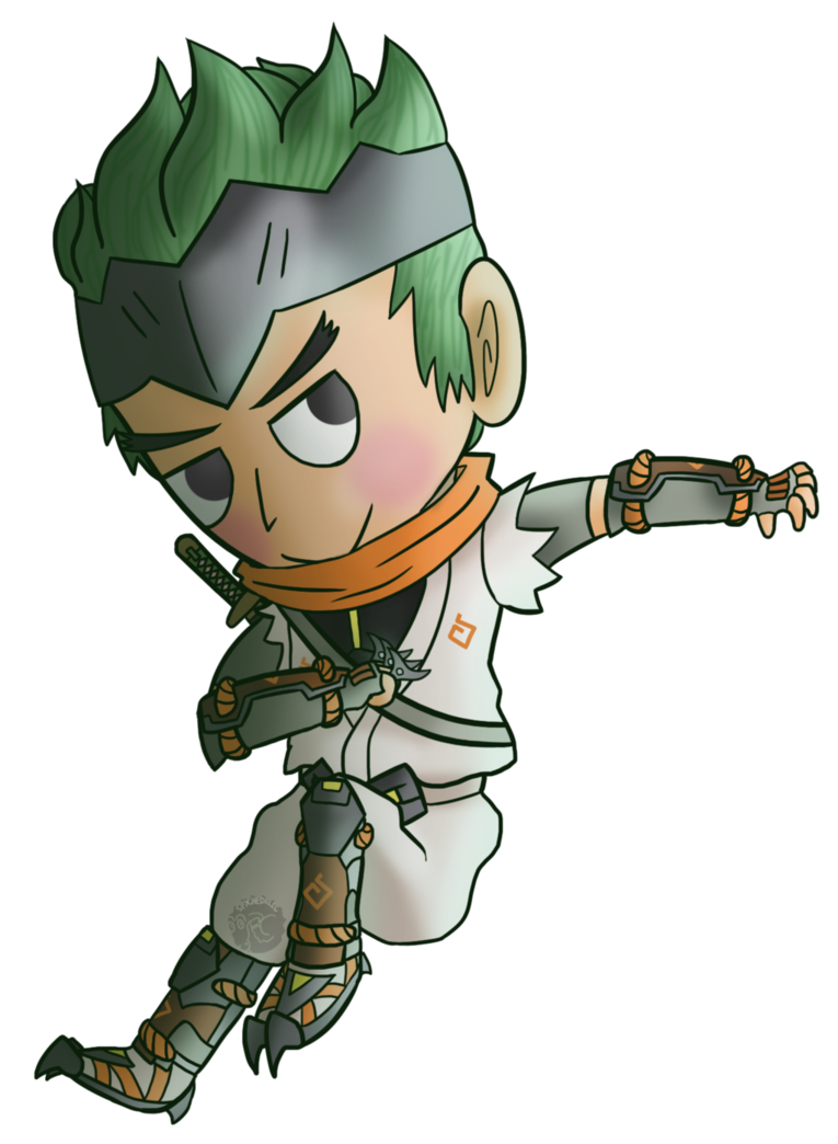 Young clipart young baby. Genji cabbage by spychedelic