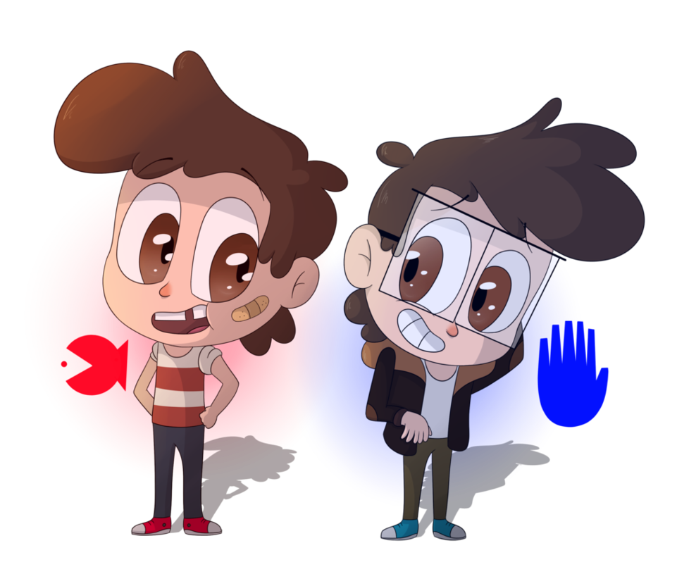 Gravity falls stanley and. Young clipart young brother