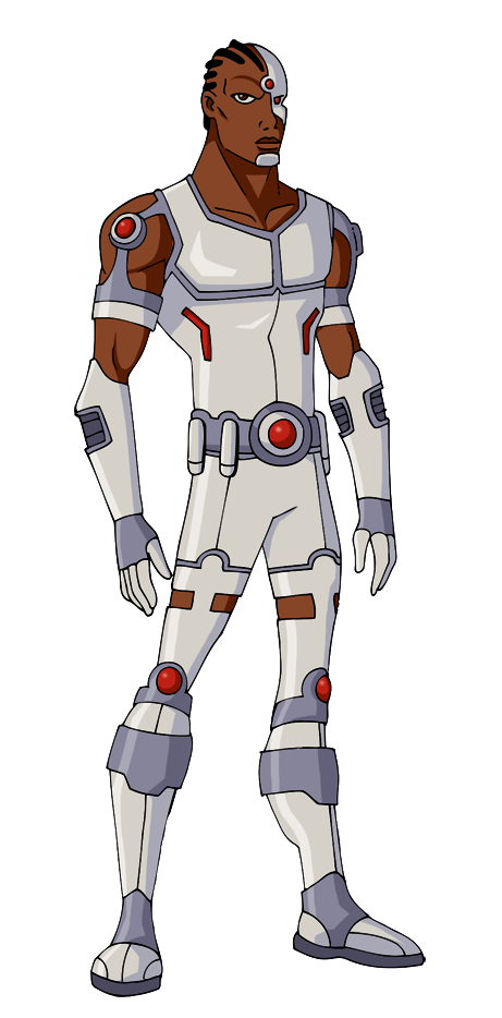Justice cyborg by glee. Young clipart young brother