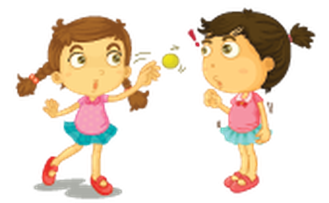 Young clipart young child. Different actions of a