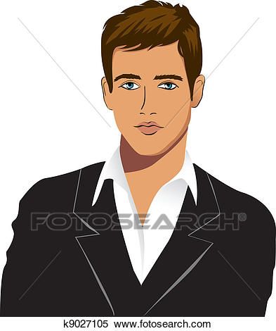 Young clipart young male. Man station