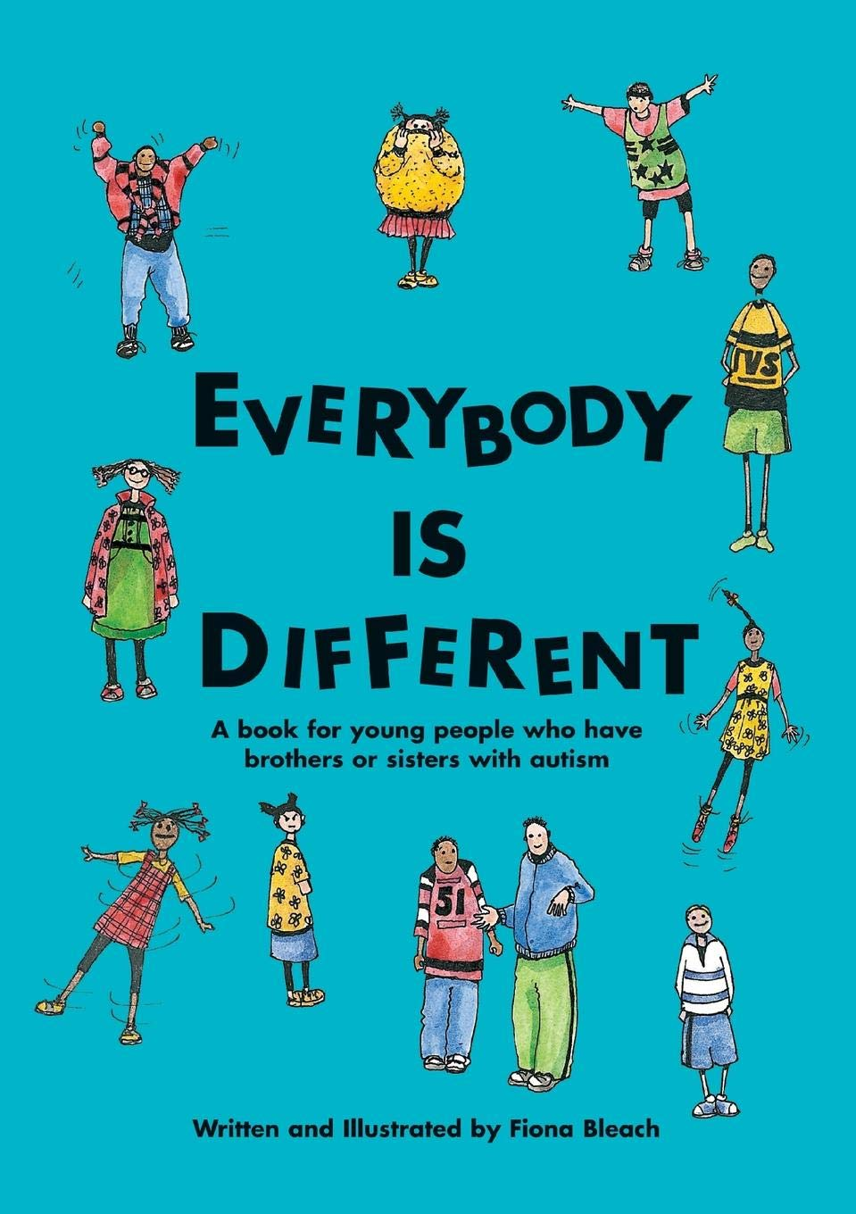 Everybody is different a. Young clipart young sibling